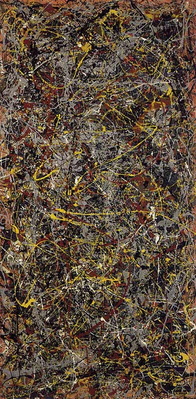 1948 by Jackson Pollock Top 10 Most Expensive Paintings