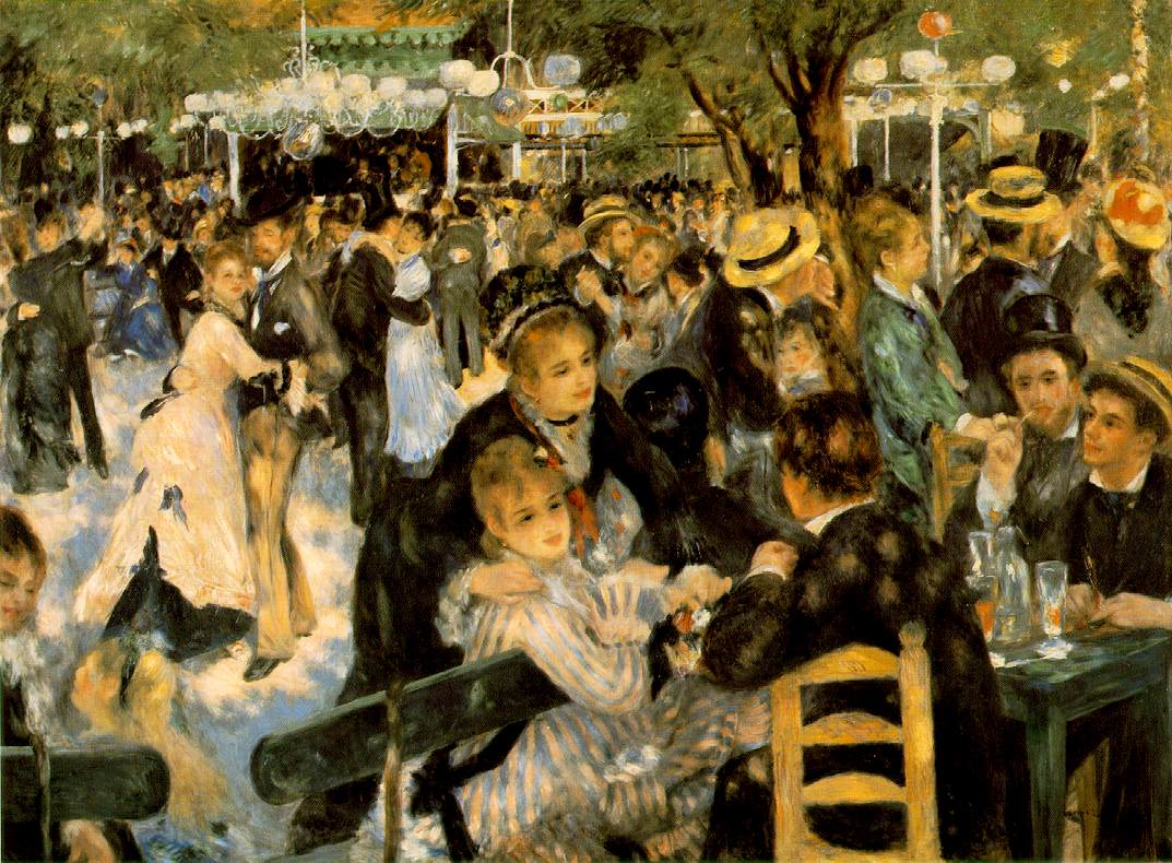 Bal du Moulin de la Galette by Pierre Auguste Renoir Top 10 Most Expensive Paintings