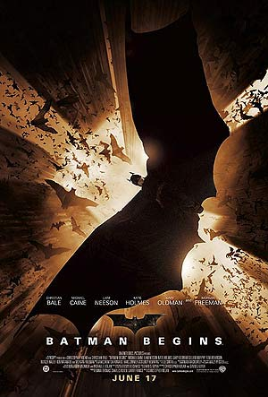 Batman begins Top 10 SuperHero Movies
