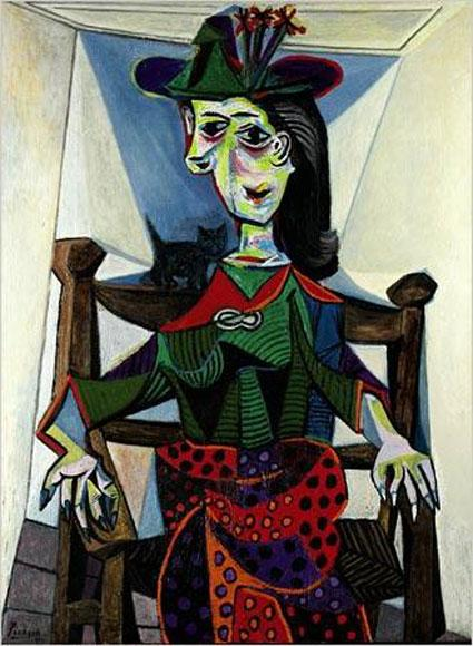 Dora Maar au Chat Top 10 Most Expensive Paintings