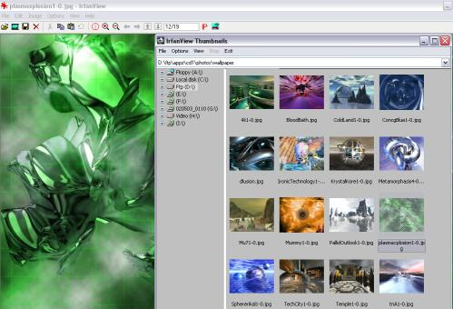 IrfanView Top 10 Best Photo Editing Software