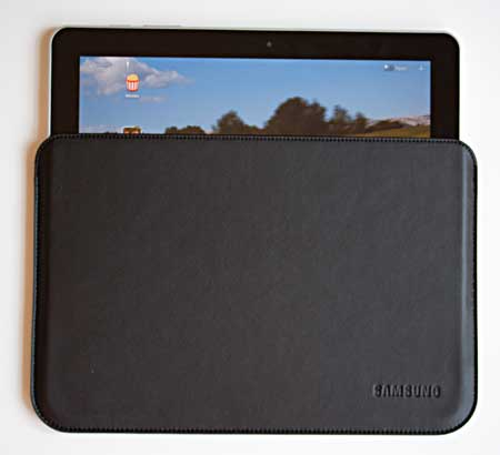 Leather pouch 10 Best Samsung Galaxy Tab 10.1 Covers and Cases