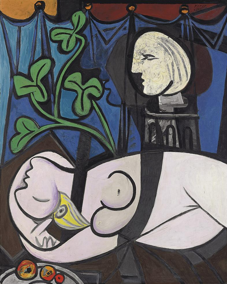 Nude Green Leaves and Bust by Pablo Picasso Top 10 Most Expensive Paintings