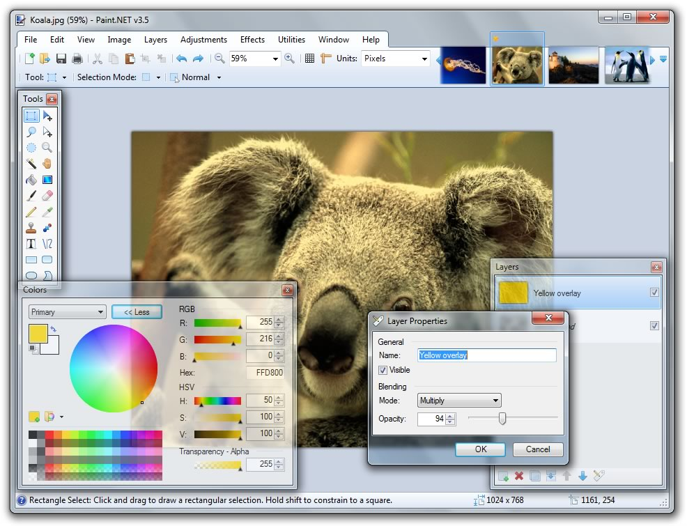 Paint.NET  Top 10 Best Photo Editing Software