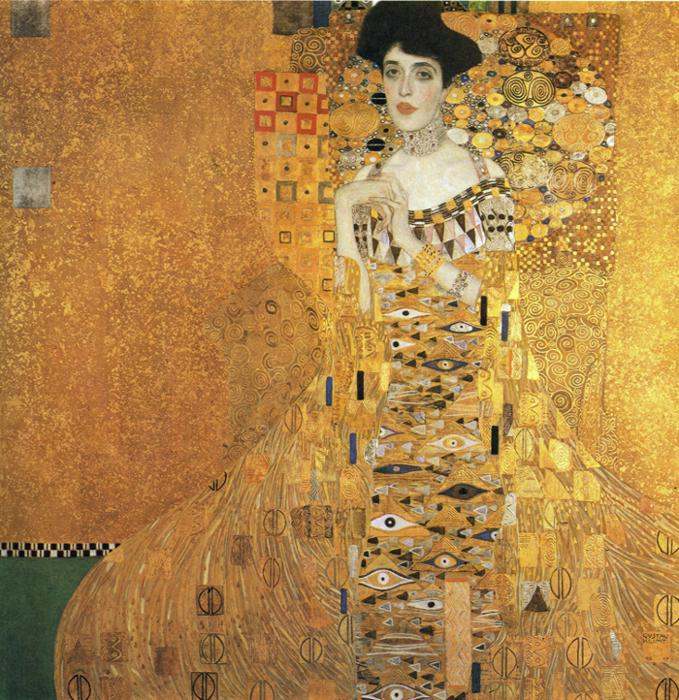 Portrait of Adele Bloch Bauer I by Gustav Klimt Top 10 Most Expensive Paintings