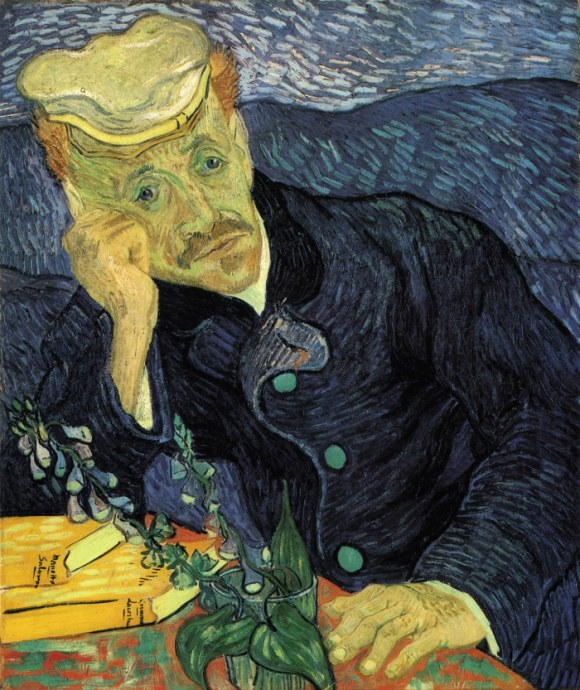 Portrait of Dr. Gachet by Vincent van Gogh Top 10 Most Expensive Paintings
