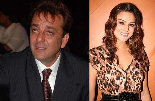 Sanjay Dutt and preity Top 10 Bollywood Couples Who Have Been Never Paired On Screen 