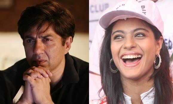 Sunny Deol and kajol Top 10 Bollywood Couples Who Have Been Never Paired On Screen