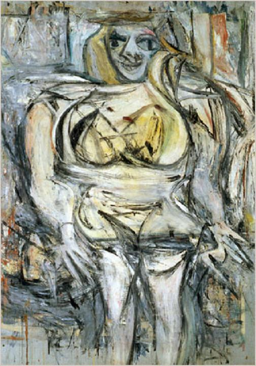 Woman III by Willem de Kooning Top 10 Most Expensive Paintings
