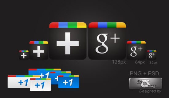 google plus icon 1 10 Amazing Google Plus (+) Icon Sets   Free Downloads