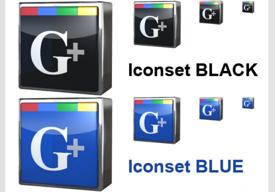 google plus icon 10 10 Amazing Google Plus (+) Icon Sets   Free Downloads