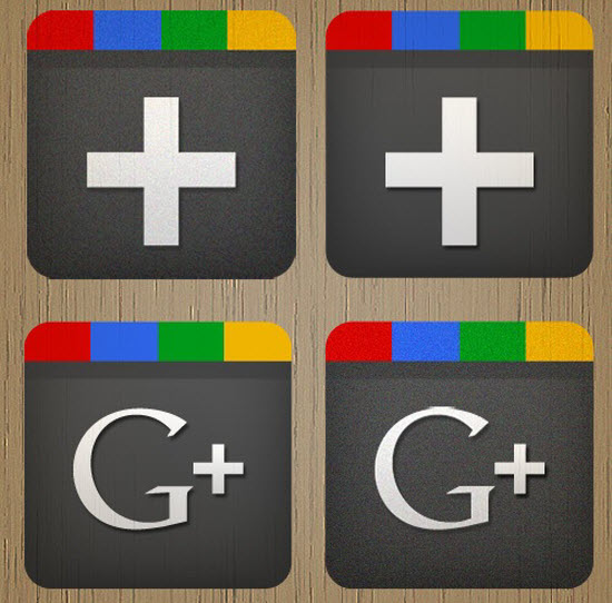 google plus icon 4 10 Amazing Google Plus (+) Icon Sets   Free Downloads