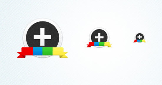 google plus icon 5 10 Amazing Google Plus (+) Icon Sets   Free Downloads