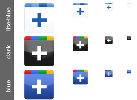 google plus icon 7 10 Amazing Google Plus (+) Icon Sets   Free Downloads
