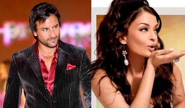 saif ali khan and aishwariya Top 10 Bollywood Couples Who Have Been Never Paired On Screen