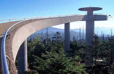 3. Clingmans Dome Tennessee Top 10 Most Beautiful Places to Visit in North America