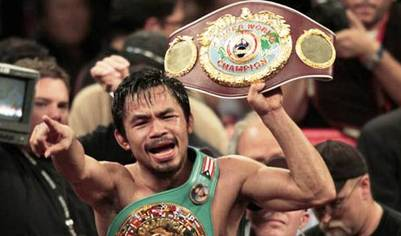 5. Manny Pacquiao Top 10 Richest Athletes in 2011