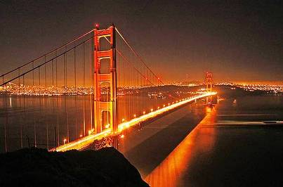 7. Golden Gate Bridge, California