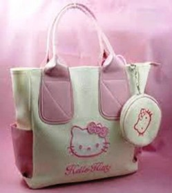 7. Hello Kitty Shopping Bag e1314603626505 Top 10 Best Womens Handbags in 2011