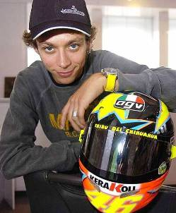 7. Valentino Rossi Top 10 Richest Athletes in 2011