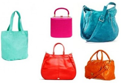 9. Colored Bags e1314603528911 Top 10 Best Womens Handbags in 2011