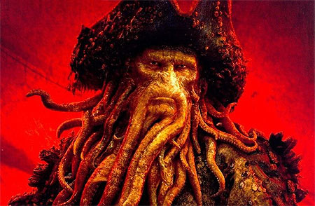 Davy Jones 10 Most Popular CGI Characters