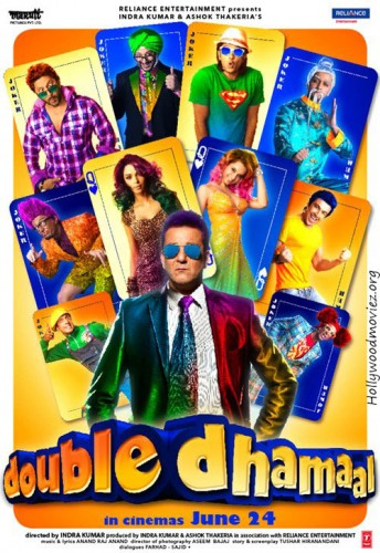 Double dhamaal Top 10 Funny Bollywood Movies in 2011