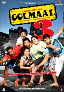 Golmaal 3 Top 10 Highest Grossing Bollywood Films