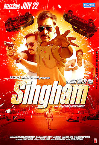 Singham Top 10 Best Bollywood Movies in 2011