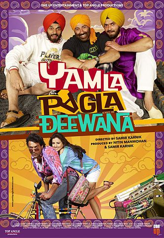 Yamla Pagla Deewana Top 10 Funny Bollywood Movies in 2011
