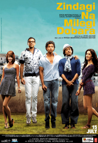 Zindagi na milegi dobara Top 10 Best Bollywood Movies in 2011