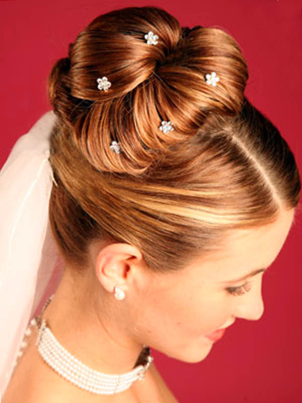 ballerina high bun Top 10 Best Wedding Hairstyles For Brides