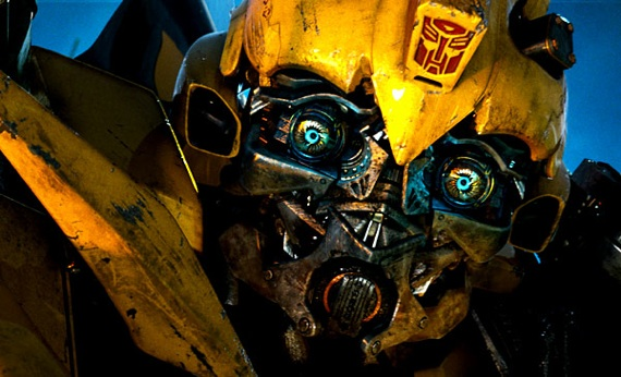 bumblebee 10 Most Popular CGI Characters