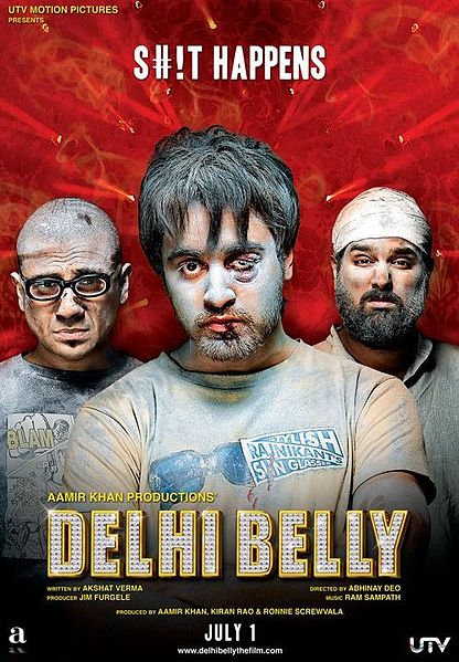 delhi belly1 Top 10 Funny Bollywood Movies in 2011 