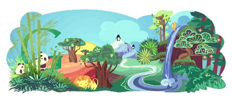 earth day Top 10 Best Google Doodles So Far