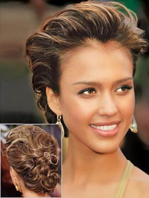 french twist Top 10 Best Curly Hairstyles