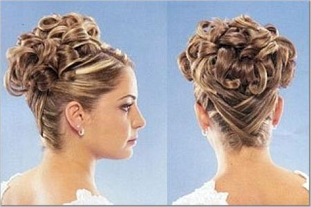 high pouf Top 10 Best Wedding Hairstyles For Brides