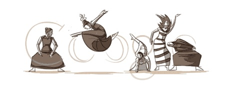 martha graham Top 10 Best Google Doodles So Far