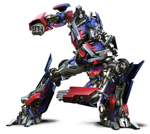 optimus prime 10 Most Popular CGI Characters