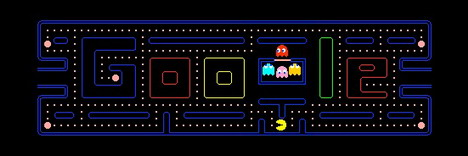 pacman Top 10 Best Google Doodles So Far