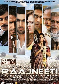 rajneeti Top 10 Highest Grossing Bollywood Films