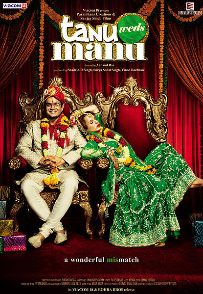 tanu weds manu1 Top 10 Funny Bollywood Movies in 2011