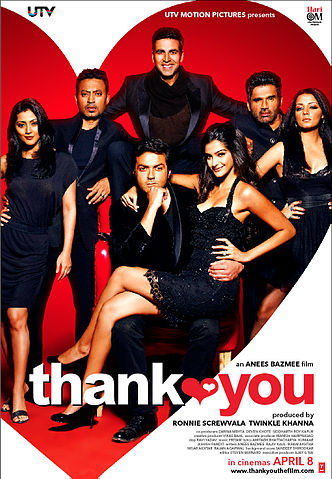 thank you Top 10 Funny Bollywood Movies in 2011