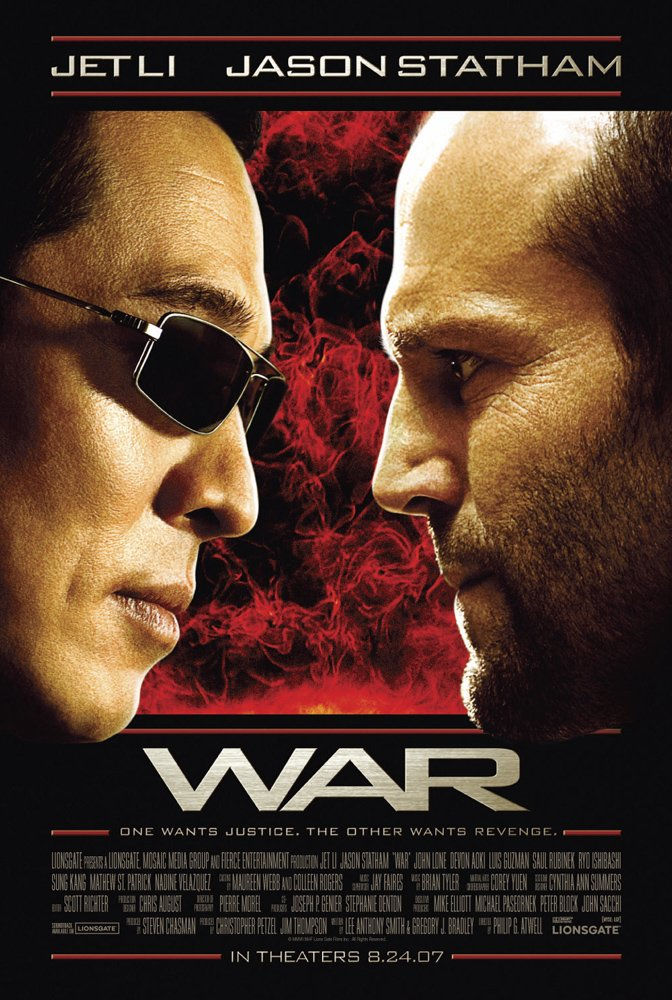 war Top 10 Best Jason Statham Movies