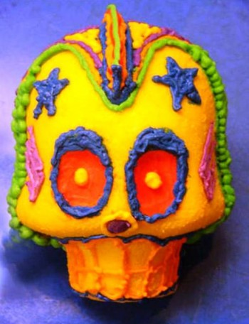 1. Large Sugar Skull e1316206841321 10 Most Creative Sugar Skull Recipes for the Day of the Dead
