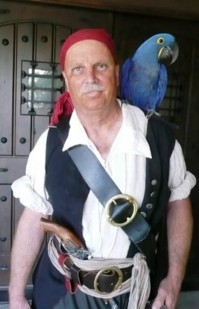 1. Pirate with Parrot e1316034798957 10 Talk Like A Pirate Day Quotes
