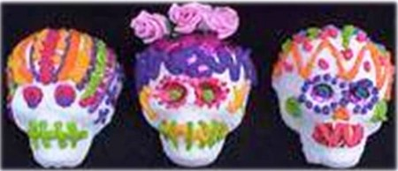 3. Sugar Skulls e1316206741142 10 Most Creative Sugar Skull Recipes for the Day of the Dead