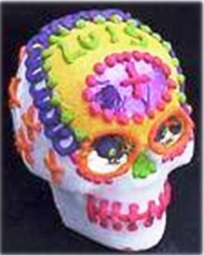 7. Small Skull 10 Most Creative Sugar Skull Recipes for the Day of the Dead