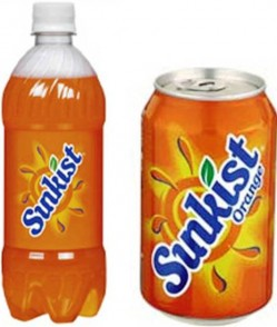7. Sunkist e1315566521221 Top 10 Most Popular Soft Drinks