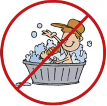 8. Bathing or Washing Is Not Allowed e1317305990107 Top 10 Traditions on Yom Kippur Day